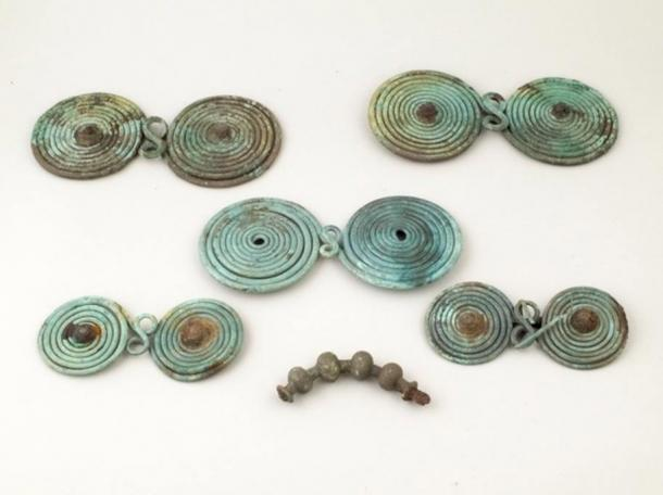 Bronze brooches