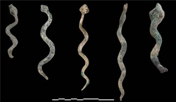 Bronze snake models hint at the social practices of the time.