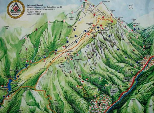 Secrets within the Bucegi Mountains