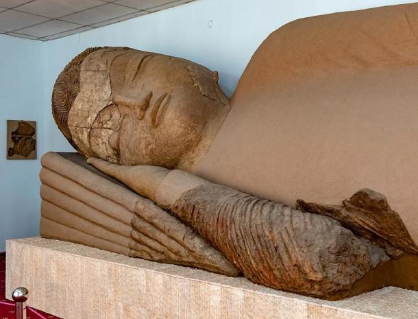 Buddha in Nirvana, National Museum of Antiquities (CC BY 2.0)