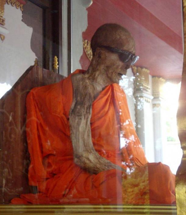 A Buddhist Mummy.