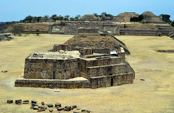 Building J, Monte Alban, Oaxaca, Mexico