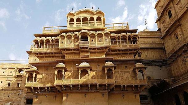 Building inside Jaisalmer Fort.