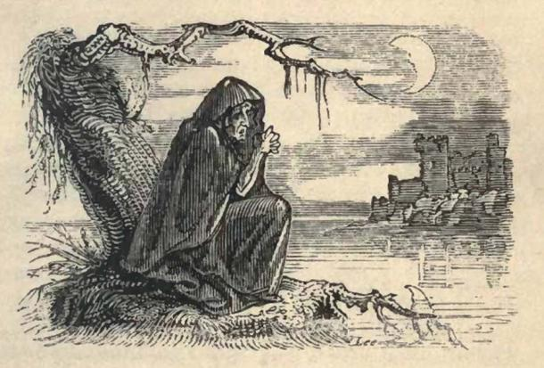Bunworth Banshee, from 'Fairy Legends and Traditions of the South of Ireland' by Thomas Crofton Croker, 1825.