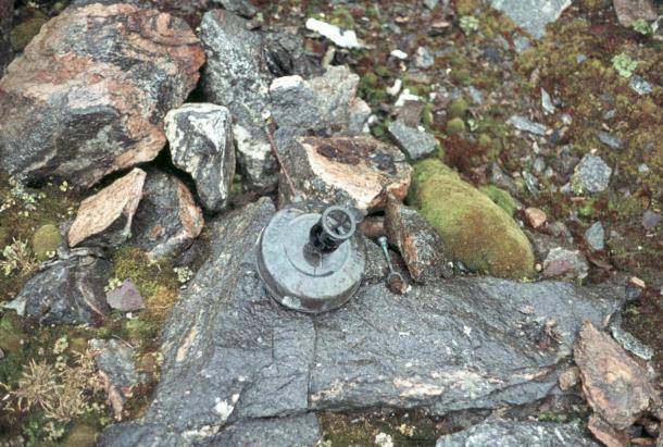 Brønlund's petroleum burner was found in 1973. (Jørn Ladegaard)