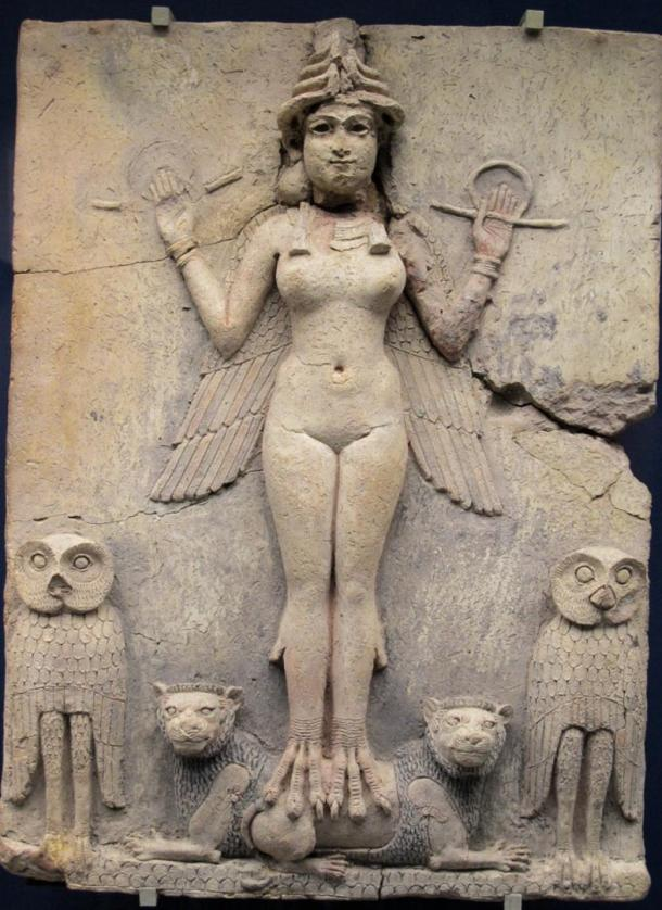 he Burney Relief discovered in Mesopotamian is dated between 1800 and 1750 BC