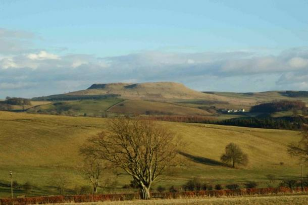 Burnswark Hill, Scotland