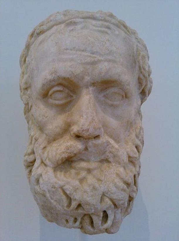Bust of Aeschylus.