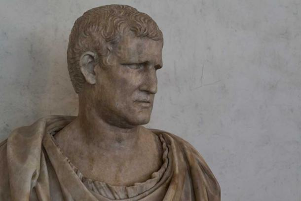 Bust of Marcus Vipsanius Agrippa dating from Augustus' time. By Egisto Sani