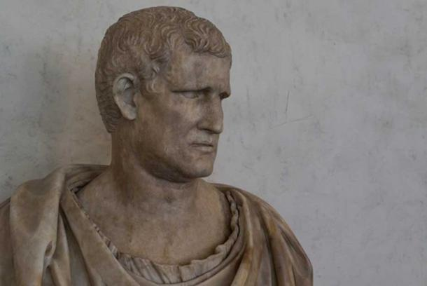 Bust of Marcus Vipsanius Agrippa, Roman General (63 BC – AD 12) dating from Augustus' time.