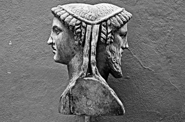 Bust of Roman depicting the deity of the Roman Janus. (Steve Best CHIUSO / CC BY-SA 2.0)
