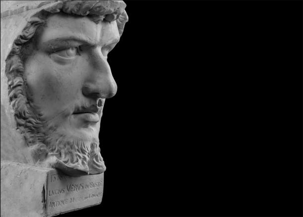 Bust of Lucius Verus. Source: kozlik_mozlik / Adobe Stock.