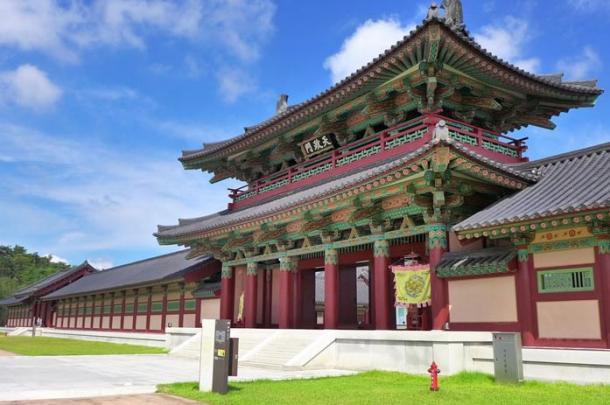 Baekje Cultural Land Buyeo Gun Chungcheongnam Do South Korea