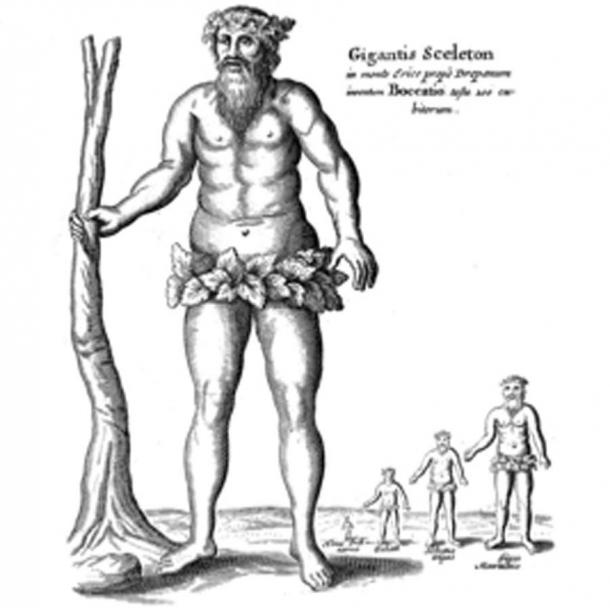 By the year 1664 when Athanasius Kircher published Mundus Subterraneus, giants were already an accepted feature of history. (Shyamal / Public Domain)