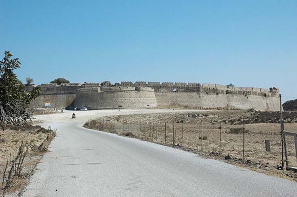 The Byzantine Antimachia Castle. (CC BY SA 3.0)