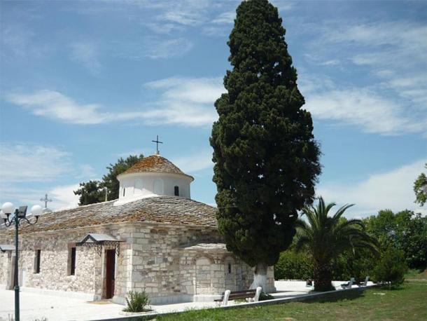 Byzantine church on Thasos. (Anlanjoejoseph/CC BY SA 3.0)
