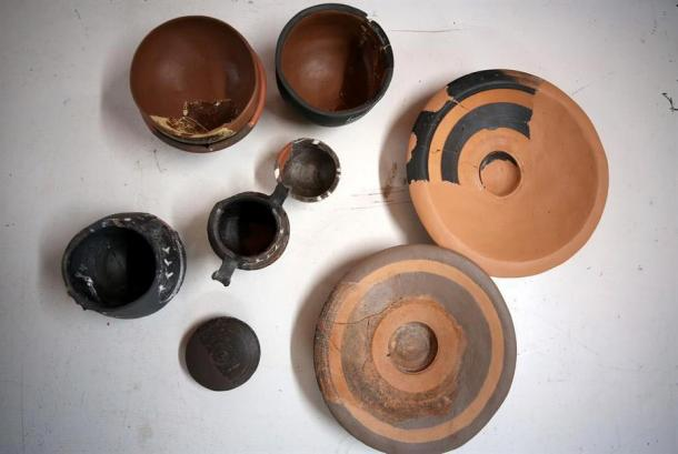 Byzantine-era cooking equipment unearthed in Assos. Source: Hurriyet Daily News