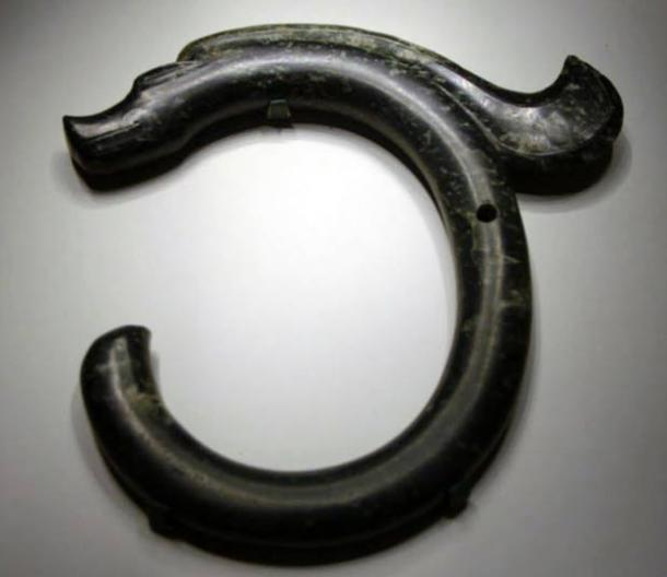 The C-shaped jade dragon of Hongshan Culture.