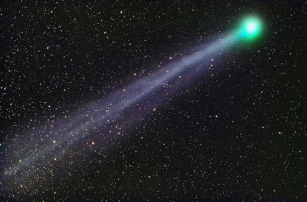 C/2014 Q2 (Lovejoy) is a long-period comet discovered on 17 August 2014 by Terry Lovejoy. This photograph was taken from Tucson, Arizona, using a Sky-Watcher 100mm APO telescope and SBIG STL-11000M camera. (John Vermette/ CC BY SA 4.0 )