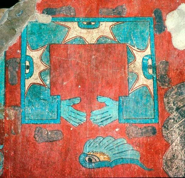 Cacaxtla, Tlaxcala, Mexico: building A, glyph. (HJPD/CC BY 3.0)