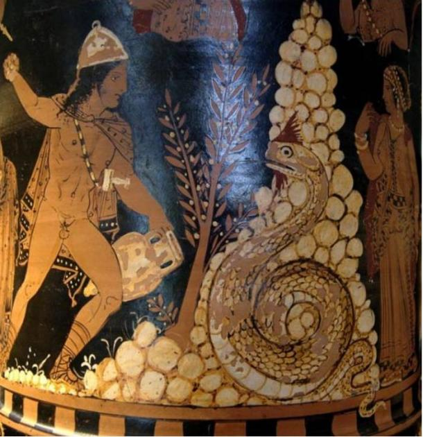 Cadmus, the Greek mythological figure who is said to have created orichalcum