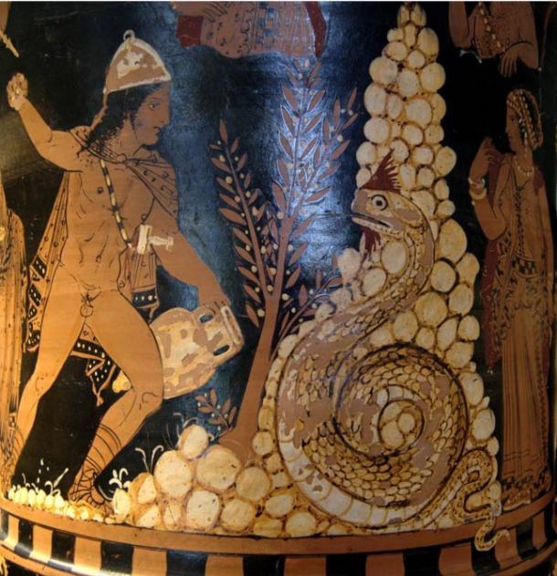 Cadmus, the Greek mythological figure who is said to have created orichalcum