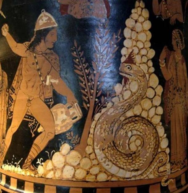 Cadmus, the Greek mythological figure who is said to have created orichalcum.