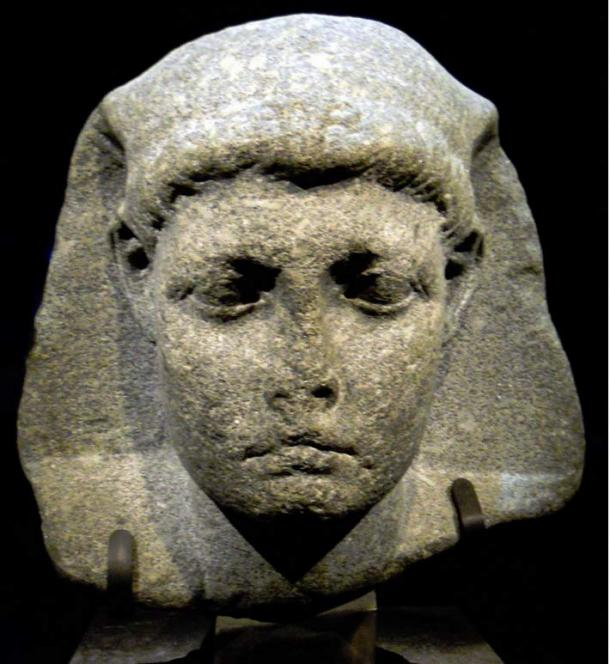 "Caesarion, from the ""Unravel the Mystery"" Cleopatra exhibit"