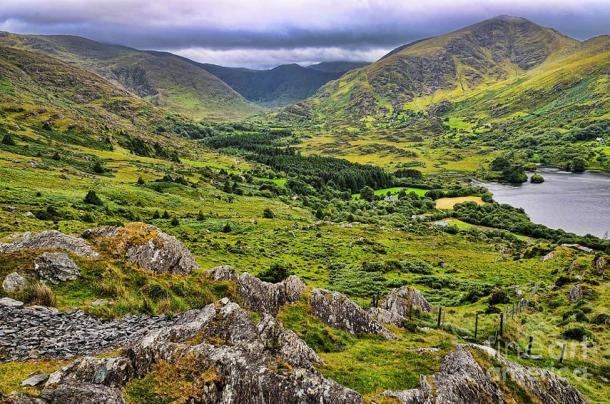 The ancient underground passage was discovered in the Caha Mountains, County Cork, Ireland.