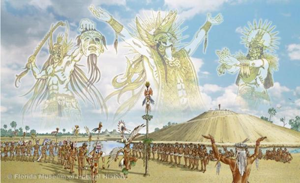 Calusa beliefs included a trinity of governing spirits. Rituals were believed to link the Calusa to their spirit world