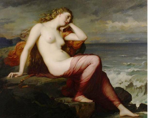 Calypso by Henri Lehmann