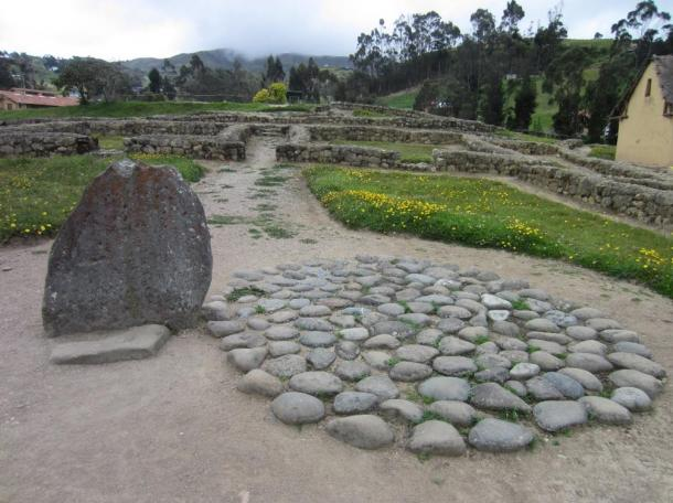 The site of the Cañari burial, 800 AD.