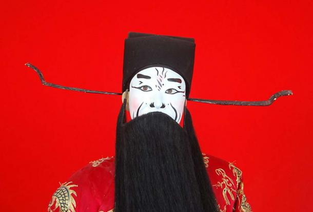 Cao Cao the Northern province warlord, as portrayed in Beijing opera