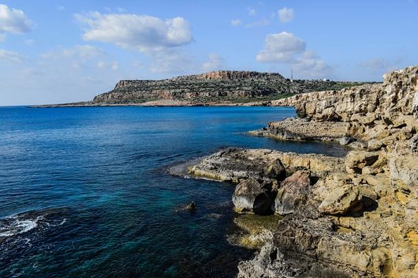 Cape Greco also claims to be the home of the Ayia Napa sea monster. (Max Pixel / Public Domain)