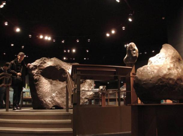 Cape York meteorite Ahnighito in American Museum of Natural History