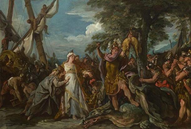 The Capture of the Golden Fleece by Jean Francois de Troy.