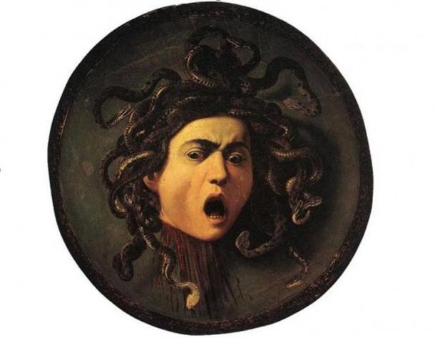Caravaggio's Medusa.