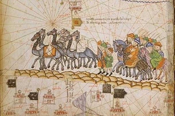 Caravan on the Silk Road, 1380.