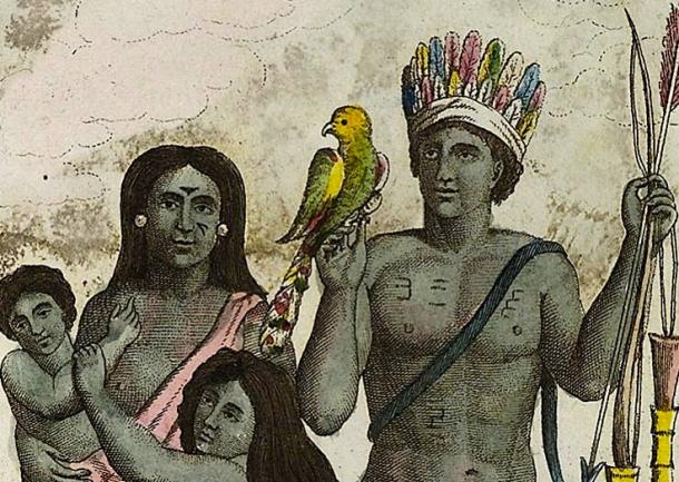 Carib Indians were cannibals in the Caribbean