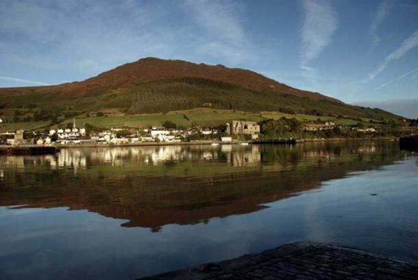 Carlingford from across the harbor.