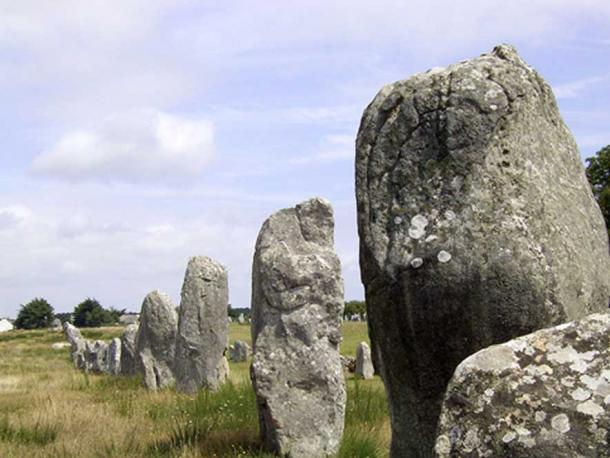 The Carnac Stones (Wikimedia Commons)