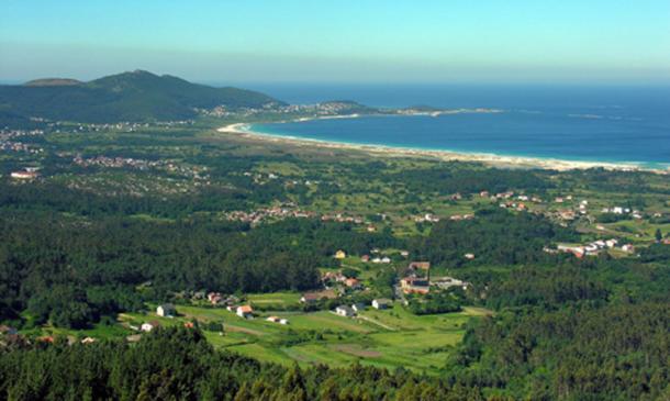 Carnota, on the Atlantic coast of Galicia