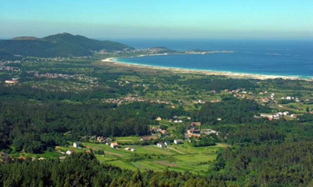 Carnota, on the Atlantic coast of Galicia