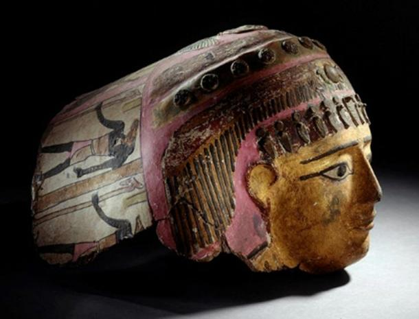 Cartonnage Mask. Egypt, 2nd century AD.