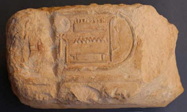 Cartouche of Ramses II, (Image: Czech Institute of Egyptology)