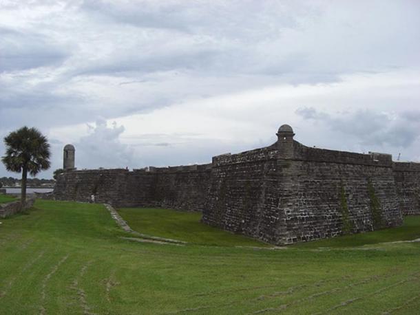 Castillo de San Marcos, St. Augustine, Florida, USA.