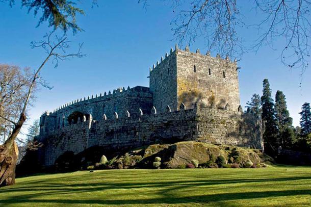 Castle Soutomaior.