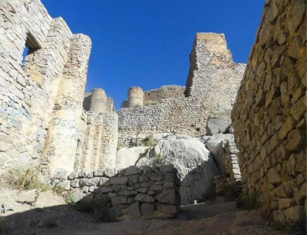 Castle of Babak. Today the castle ruins are visited by Iranians and tourists all year round.