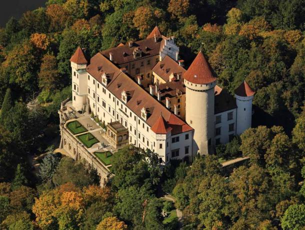 Konopiště Castle, Benešov, Czech Republic, 2011. Photo courtesy National Heritage Institute (NPÚ), Czech Republic (PhilaMuseum)
