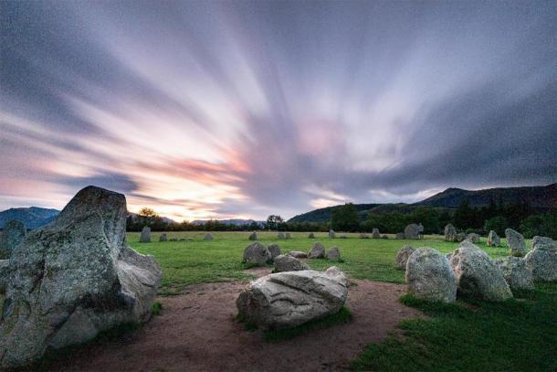 Castlerigg stone circle at sunrise. (Y. Jorzik-Brzelinski /Adobe Stock)